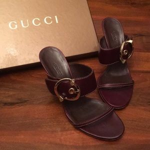 GUCCI HEEL SANDALS 🌸